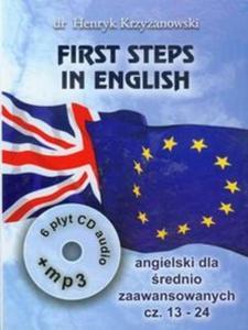 First Steps in English 2 Intensywny kurs języka angielskiego dla średnio zaawansowanych z CD i MP3