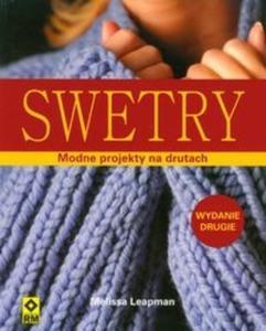 Swetry Modne projekty na drutach - 2825716138
