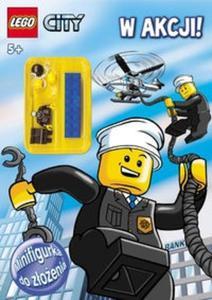 Lego City. W akcji! Policja. Minifigurka i megaplakat gratis (5+) (LMI-4)