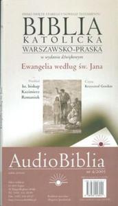Audio Biblia cz. 4 Ewangelia wg św. Jana (Płyta CD) - 2825717962