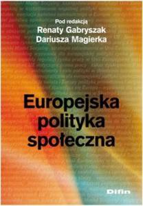 Europejska polityka społeczna - 2825718575