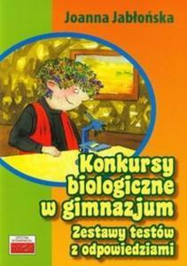 Konkursy biologiczne w gimnazjum - 2825718879