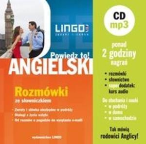 Angielski Rozmówki + konwersacje CD mp3 - 2825719432
