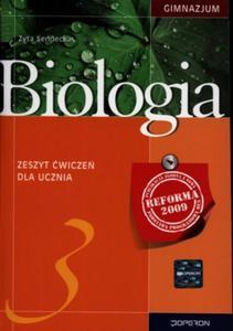 Biologia. Klasa 3 gimnazjum. Zeszyt ćwiczeń - 2825720102