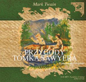 Przygody Tomka Sawyera. Klub czytanej ksiązki. Audiobook (1 CD-MP3) - 2825726710