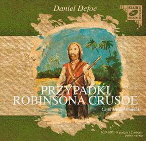 Przypadki Robinsona Crusoe. Klub czytanej książki. Audiobook (1 CD-MP3) - 2825726711