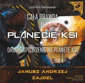 Cała prawda o planecie KSI. Drugie spojrzenie na planetę KSI. Audiobook (1 CD-MP3) - 2825726723