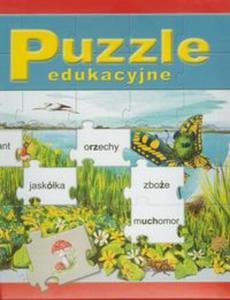 Puzzle edukacyjne Ortograficzne Kwiatki - 2856763670