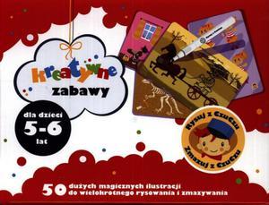 Rysuj z CzuCzu. Zmazuj z CzuCzu. Kreatywne zabawy dla dzieci 5-6 lat - 2825728197