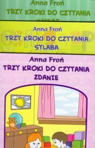Trzy kroki do czytania 5-6 lat Sylaba Wyraz Zdanie - 2825730958