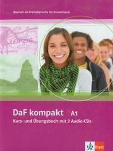 DaF kompakt A1 Kurs- und Ubungsbuch mit 2 Audio-CDs - 2857595968