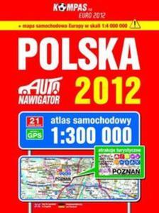Polska atlas samochodowy 1:300 000 - 2825732047