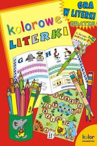 Kolorowe literki. Gra w literki gratis - 2825734540