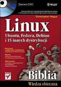 Linux. Ubuntu, Fedora, Debian i 15 innych dystrybucji (+DVD) - 2857600590