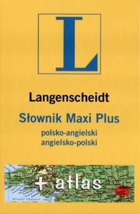 Słownik Maxi Plus polsko angielski angielsko polski + atlas - 2825653912