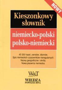 Kieszonkowy słownik niemiecko-polski polsko-niemiecki - 2825653957