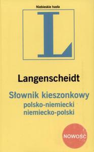 L. Słownik kieszonkowy polsko - niemiecki niemiecko - polski - 2825653965