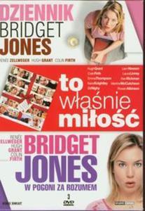 Dziennik Bridget Jones / To właśnie miłość / Bridget Jones w pogoni za rozumem (Płyta DVD) - 2825739493