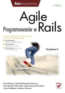 Agile. Programowanie w Rails. Wydanie II - 2857604949