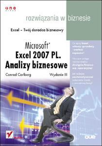 Microsoft Excel 2007 PL. Analizy biznesowe. Rozwiązania w biznesie. Wydanie III - 2825740709