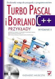 Turbo Pascal i Borland C++. Przykłady. Wydanie II - 2857605807