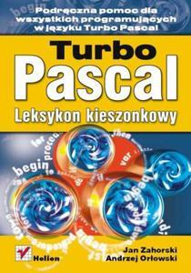 Turbo Pascal. Leksykon kieszonkowy - 2857605837