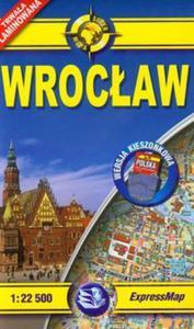 Wrocław plan miasta 1:22 500 - 2857608410