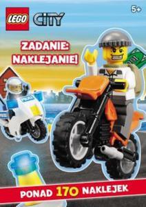 Lego City. Zadanie: naklejanie! (LAS-1) - 2825744167