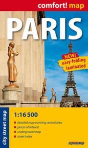 Paris laminowany plan miasta 1:16 500 ? mapa kieszonkowa - 2857608812