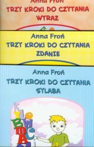 Trzy kroki do czytania 7-8 lat Sylaba Wyraz Zdanie - 2825744365