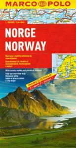 Norwegia mapa drogowa 1:800 000 Marco Polo - 2825744424
