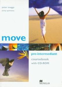 Move Pre-Intermediate coursebook with CD-ROM - 2857609103