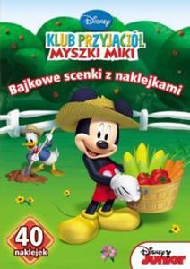 Klub przyjaciół myszki miki. Bajkowe scenki z naklejkami (SC-8) - 2825747534
