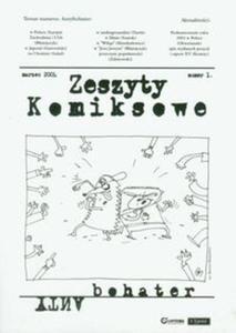 Zeszyty komiksowe nr 1 Antybohater - 2857612980
