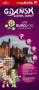 Gdańsk, Gdynia, Sopot Euro 2012 - 1:26 000 mapa i miniprzewodnik - 2857614326