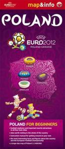 Poland Polska Euro 2012 - 1:1 400 000 mapa i miniprzewodnik - 2825749800