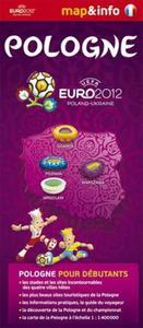 Pologne Polska Euro 2012 - 1:1 400 000 mapa i miniprzewodnik - 2857614330