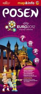 Posen Polska Euro 2012 - 1:20 000 mapa i miniprzewodnik - 2857614333
