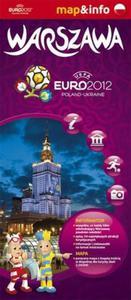 Warszawa Euro 2012 - 1:26 000 mapa i miniprzewodnik - 2857614334