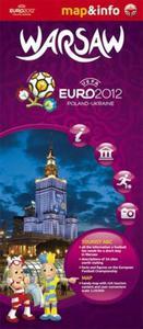 Warsaw Warszawa Euro 2012 - 1:26 000 mapa i miniprzewodnik - 2857614336
