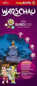 Warschau / Warszawa Euro 2012 - 1:26 000 mapa i miniprzewodnik (niemiecka wersja językowa) - 2857614337