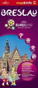 Breslau Wrocław Euro 2012 - 1:22 500 mapa i miniprzewodnik - 2857614340