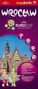 Wrocław Euro 2012 mapa i miniprzewodnik - 2857615999