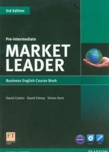 Market Leader Pre-Intermediate Business English Course Book with DVD-ROM - 2853453465