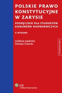 Polskie prawo konstytucyjne w zarysie - 2825752112