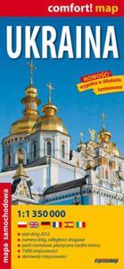 Ukraina 1:1 350 000 laminowana mapa samochodowa - 2853453799