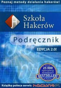 Szkoła hakerów podręcznik z płytą CD - 2857622583
