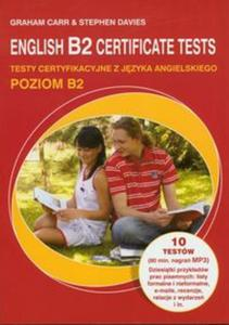 English B2 Certificate tests z płytą CD - 2857624596