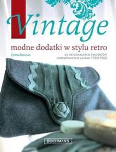 Vintage modne dodatki w stylu retro - 2857625252
