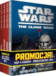Pakiet Star Wars: Obrońcy republiki / Oddział breakout / Kryzys na Coruscant / Ścieżka Jedi - 2857625622